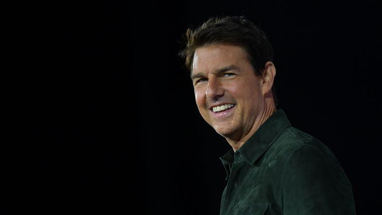 L'acteur américain Tom Cruise le 18 juillet 2019 à San Diego en Californie (Etats-Unis). (CHRIS DELMAS / AFP)