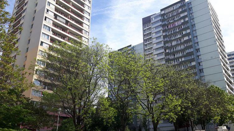 Des barres d'immeubles à Bagnolet (Seine-saint-Denis). (RADIO FRANCE)