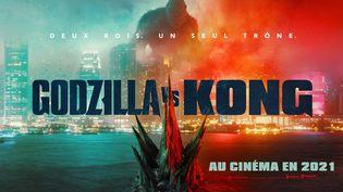 Avec 350 millions de dollars de recettes mondiales,Godzilla versus Kongest devenu, samedi 10 avril, le film ayant rapporté le plus d'argent depuis le début de la pandémie de Covid-19. (WARNER BROS. - LEGENDARY ENTERTA / COLLECTION CHRISTOPHEL VIA AFP)