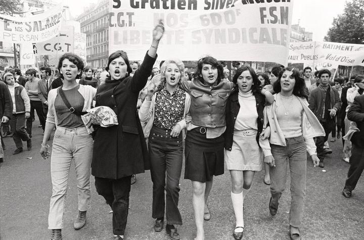 Gilles Caron, Manifestation, mai 1968  (Fondation Gilles Caron Courtesy School Gallery /Olivier Castaing)