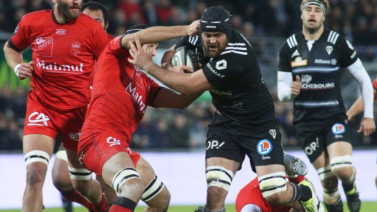 Brive domine Lyon (DIARMID COURREGES / AFP)