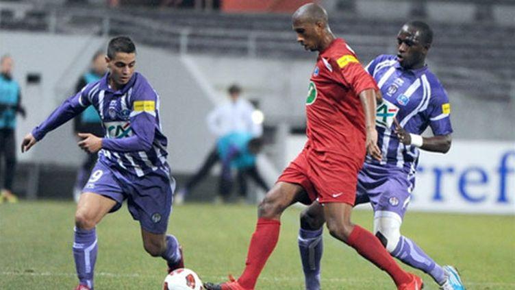 Le Paris FC contre Toulouse en Coupe de France en 2011