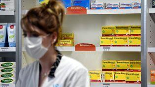 Une pharmacie de Nancy (Meurthe-et-Moselle), lundi 16 mars 2020. (MAXPPP)