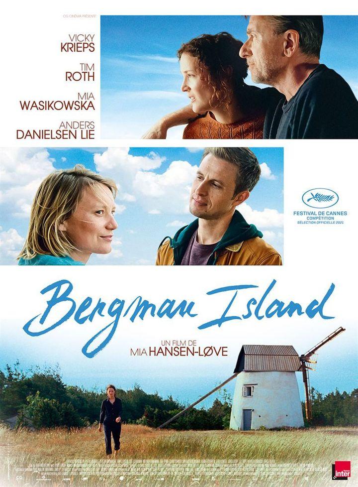 """L'affiche de """"Bergaman island"""" deMia Hansen-Løve (2021). (LES FILMS DU LOSANGE)"""