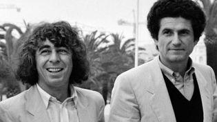 Claude Lelouch et Francis Lai à Cannes, en 1981  (RALPH GATTI / AFP)
