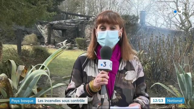Pays basque : les feux désormais sous contrôle des pompiers