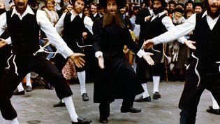 """louis de Funès dans """"Les aventures de Rabbi Jacob"""", réalisé par gérard Oury en 1973 (LES FILMS POMEREU / HORSE FILM / AFP)"""