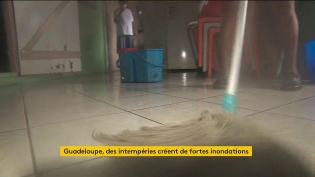Guadeloupe : les habitants font face à de fortes inondations