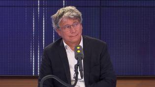 Eric Coquerel, député La France insoumise, invité de franceinfo le 20 août 2019. (FRANCEINFO / RADIOFRANCE)
