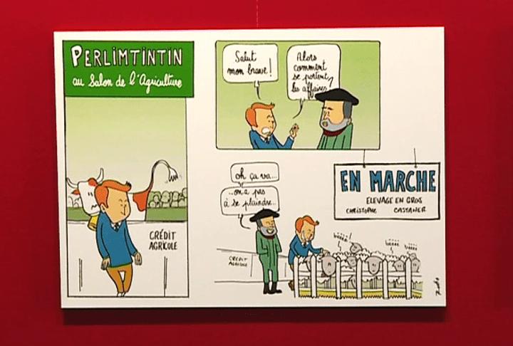 """Les aventures de """"Perlimtintin"""" du dessinateur Rodho  (France 3)"""