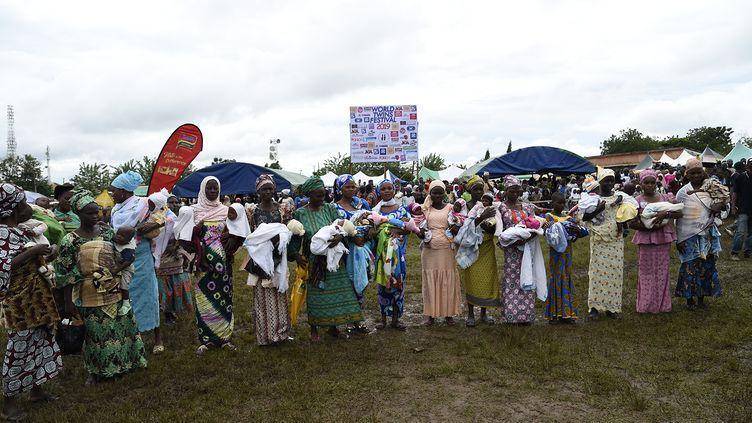 Le festival des jumeauxà Igbo-Ora au Nigeria (PIUS UTOMI EKPEI / AFP)