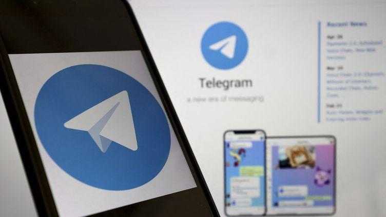 Le logiciel pouvait aussi récupérer des informations de l'application Télégram. (MUHAMMED SELIM KORKUTATA / ANADOLU AGENCY / AFP)