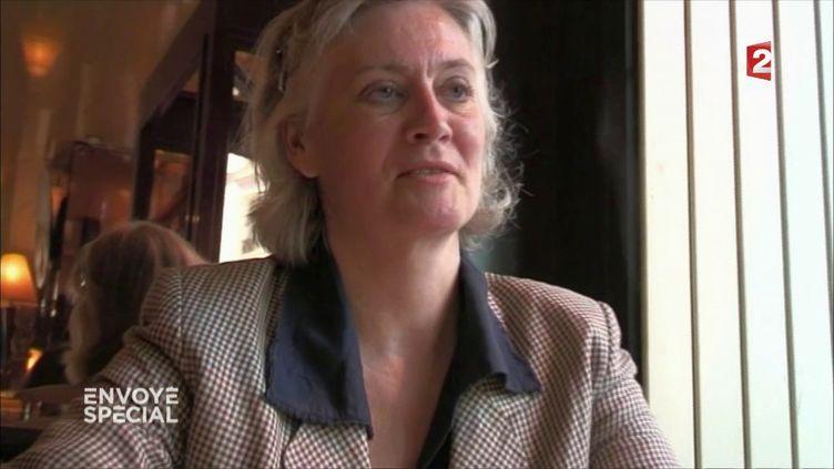 Penelope Fillon ITW (CAPTURE D'ÉCRAN FRANCE 2)
