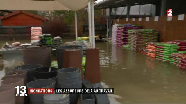 Inondations : les assureurs déjà au travail