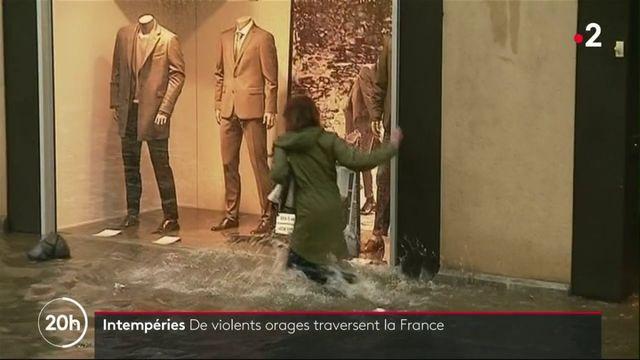 Intempéries : la France se prépare à affronter de violents orages