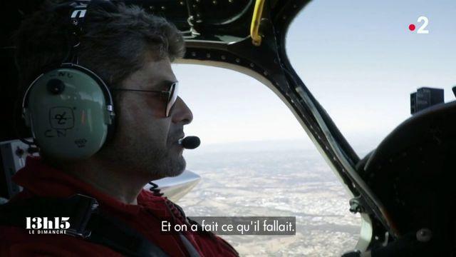 """VIDEO. """"Super-héros ? Ça m'étonnerait"""", disait de lui le pilote de Tracker Franck Chesneau, mort au feu le 2 août 2019"""