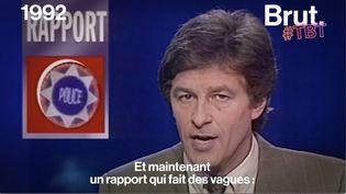 VIDEO. En 1992, un rapport de la Fédération internationale des droits de l'homme dénonçait le racisme (BRUT)