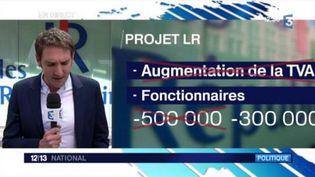 Législatives : nouveau programme pour les Républicains (FRANCEINFO)