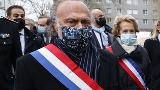 Le député Olivier Dassault à Beauvais (Oise), le 5 mars 2021. (LUDOVIC MARIN / AFP)