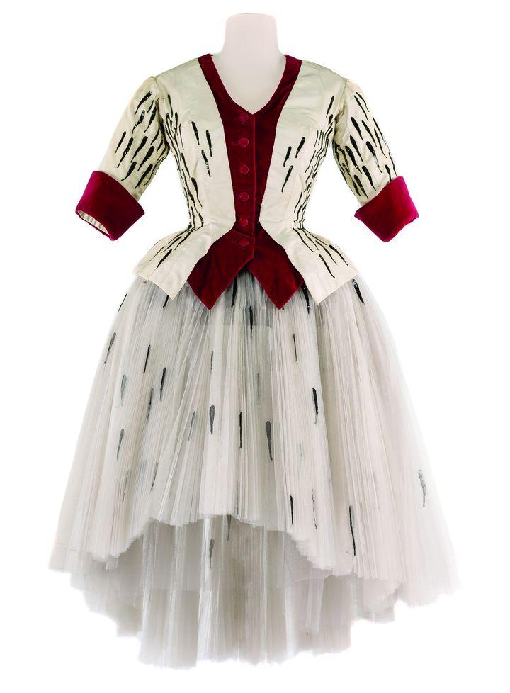 Costume d'André Delfau pour le ballet Le Clochard de A. Wolf, Opéra-Comique, 1959.   (CNCS / Florent Giffard)