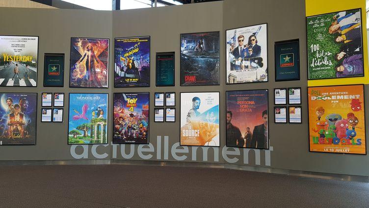 Affiches de films (photo d'illustration). (JEAN-FRAN?OIS FREY / MAXPPP)