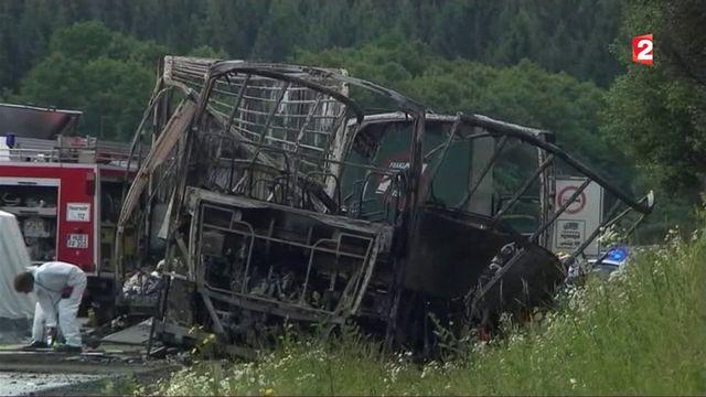 Allemagne : dramatique accident de car