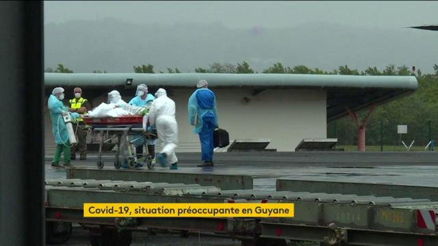 Coronavirus : la situation empire en Guyane, des malades transférés en Martinique
