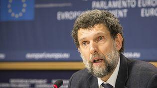 Osman Kavala au Parlement europen, à Bruxelles, le 11 décembre 2014  (Wiktor Dabkowski / picture alliance / Wiktor Dabkow/MaxPPP)
