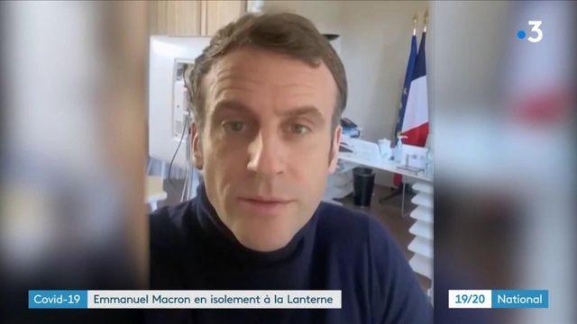 Covid-19 : Emmanuel Macron isolé à La Lanterne