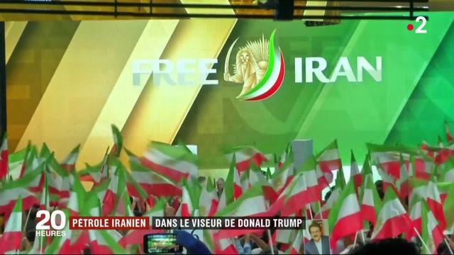 Pétrole iranien : dans le viseur de Donald Trump