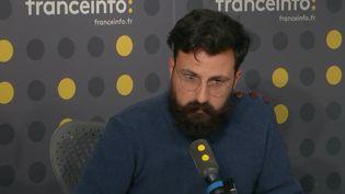 "Le journaliste du ""Monde"", Allan Kaval, en novembre 2019. (FRANCEINFO / RADIOFRANCE)"