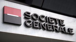 Le siège de la Société générale à Londres (Royaume-Uni), le 5 mai 2017. (JUSTIN TALLIS / AFP)