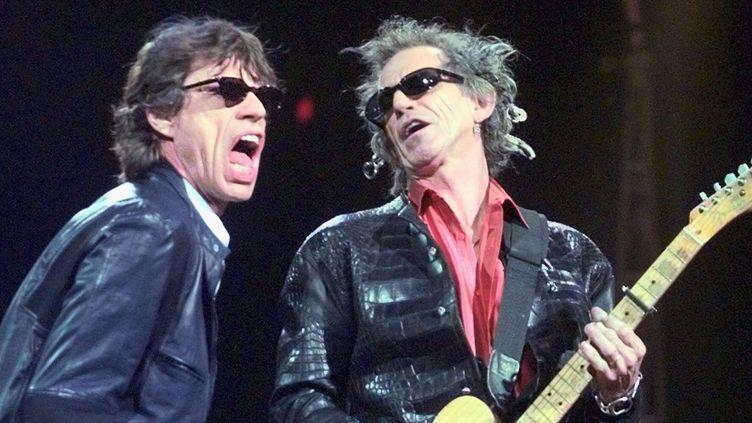 Mick Jagger et Keith Richards à Boston (5 mars 2015)  (Elise Amendola / AP / SIPA)