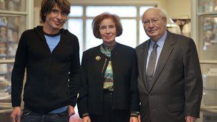 Arno Klarsfeld et ses parents(ici le 1er octobre 2010 à Paris) iront manifester à Nantes mercredi 8 janvier 2014, à Nantes. (ETIENNE LAURENT / AFP)
