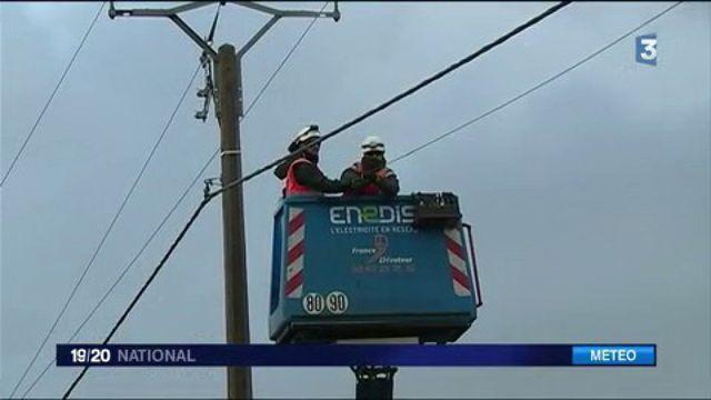 Gironde : 250 techniciens mobilisés pour rétablir l'électricité