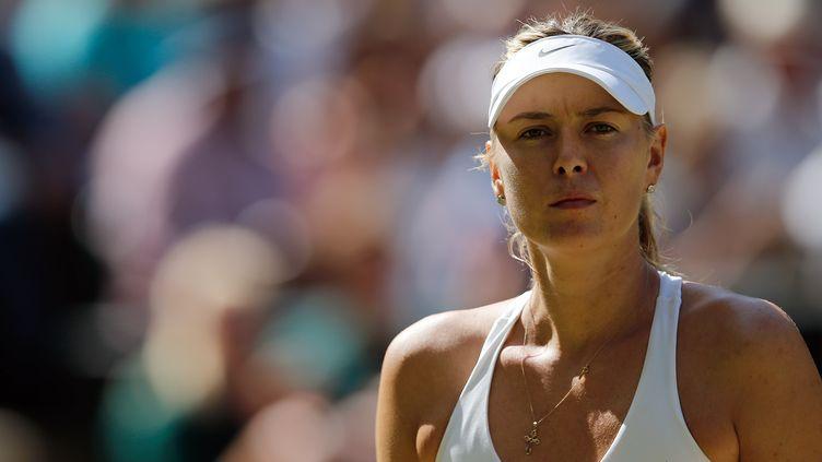 Maria Sharapova (ADRIAN DENNIS / AFP)