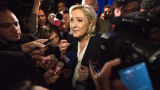 Marine Le Pen, le 26 janvier 2017 à Paris. (YANN KORBI / CITIZENSIDE / AFP)