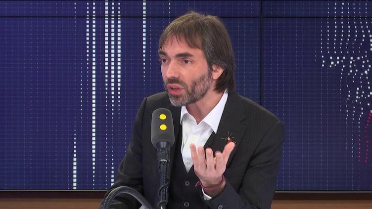 Cédric Villani, sur franceinfo lundi 20 janvier. (FRANCEINFO / RADIOFRANCE)