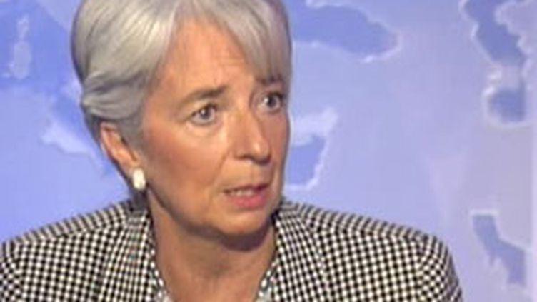 Christine Lagarde (janvier 2010) (France 2)
