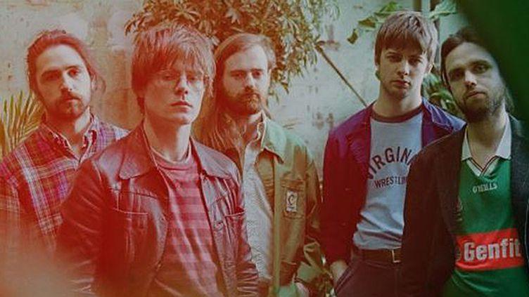 Le groupe punk irlandais Fontaines D.C.  (Daniel Topete)