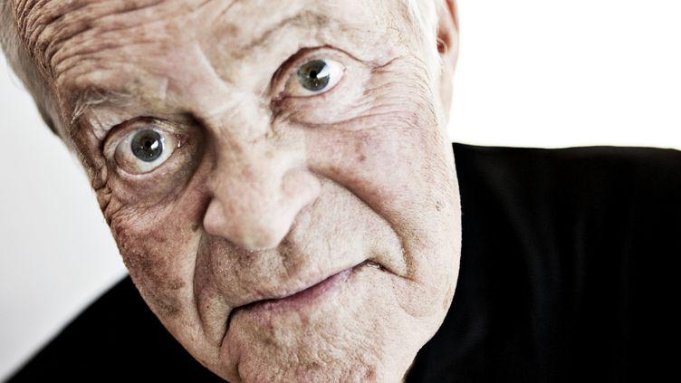 Portrait du violoniste danois Svend Asmussen (2008)  (BENITA MARCUSSEN / SCANPIX DENMARK / AFP)