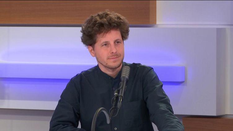 Julien Bayou, invité de franceinfo le 18 juin 2020. (FRANCEINFO / RADIO FRANCE)