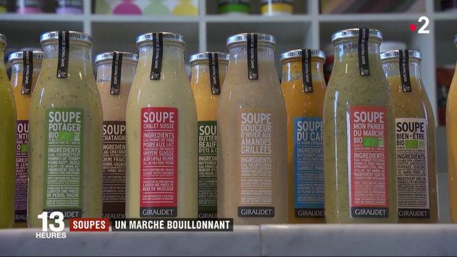 Soupes : un marché bouillonnant
