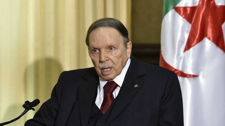 Abdelaziz Bouteflika en avril 2016. (ERIC FEFERBERG / AFP)