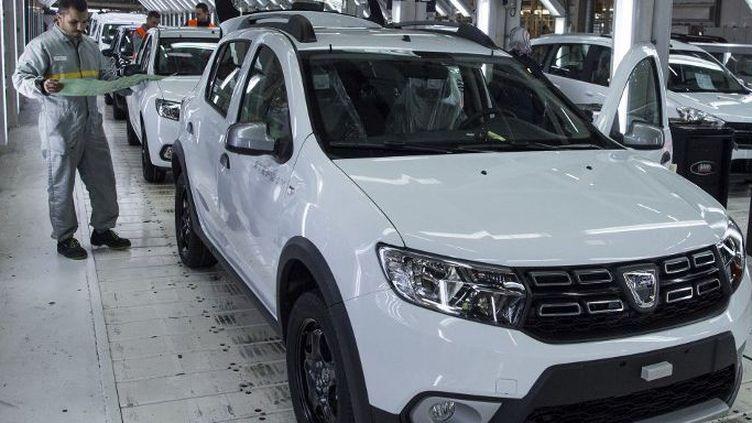 L'usine Renault de Tanger exporte dans 74 pays (FADEL SENNA / AFP)