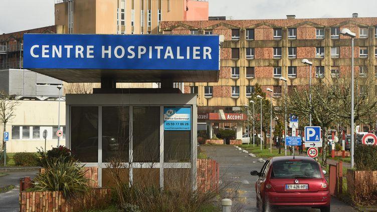 Le centre hospitalierde Dax (Landes), le 10 février 2021. (GAIZKA IROZ / AFP)