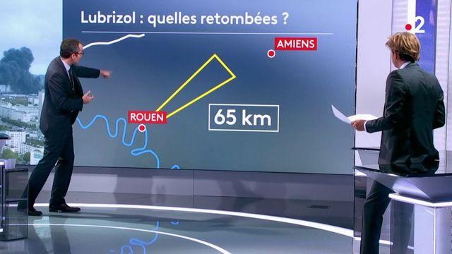 Incendie d'une usine à Rouen : faut-il craindre  des retombées pour les habitants ?