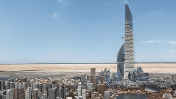 Bassorah, ville du futur. (Capture d'écran de la vidéo de l'agence AMBS_MEDIA)