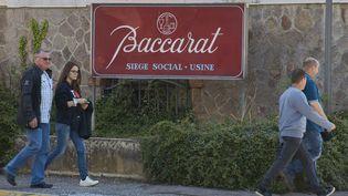 Le siège de lacristallerie Baccarat en Meurthe-et-Moselle le 22 mai 2017. (SAUCOURT PATRICE / MAXPPP)