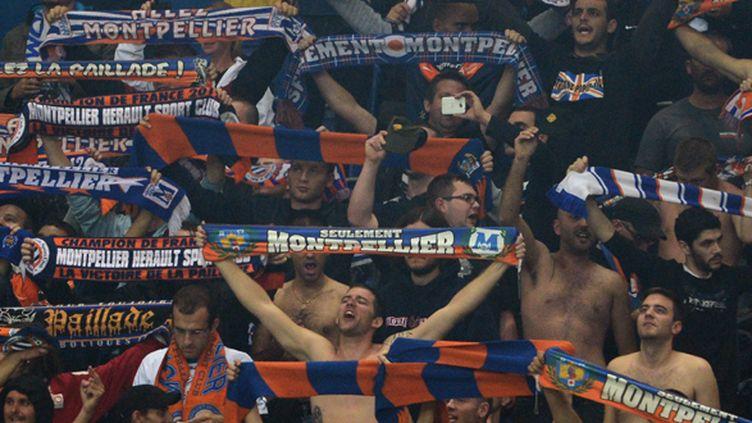 Les supporters montpelliérains